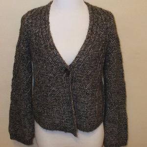 LOFT Alpaca/Wool Blend Cardigan Sweater